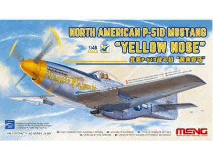 LS 009 MENG P 51D Mustang Yellow Nose