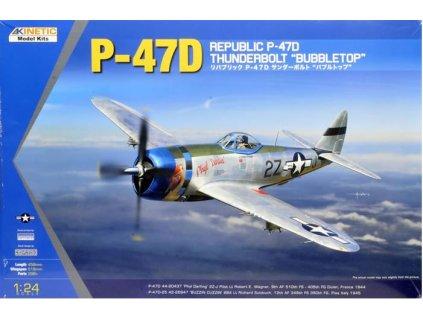 K3207 P 47D Thunderbolt Bubbletop Kinetic