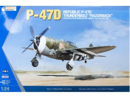 K3208 P 47D Thunderbolt Razorback Kinetic