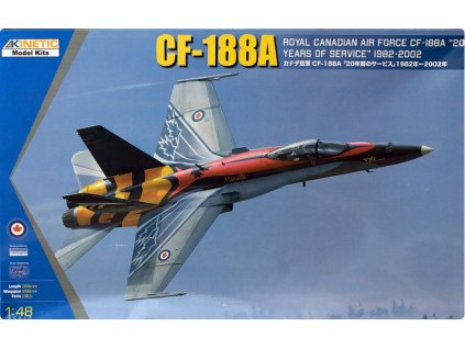 K48079 CF 188A '20 Years of Service RCAF' Kinetic