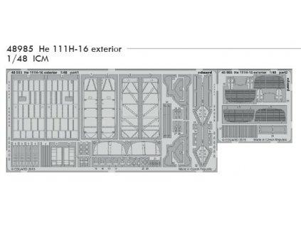 48985 He 111H 16 Exterior 1 48 ICM