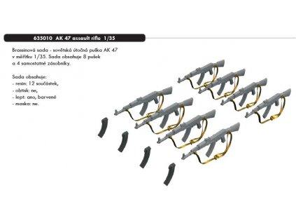 635010 AK 47 assault rifle 1 35