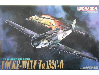 Model Kit letadlo 5007 - FOCKE-WULF TA-152C - 0 (1:72)