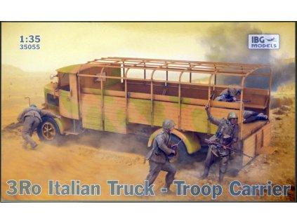 IBG35055 3Ro Italian Truck Troop Carrier