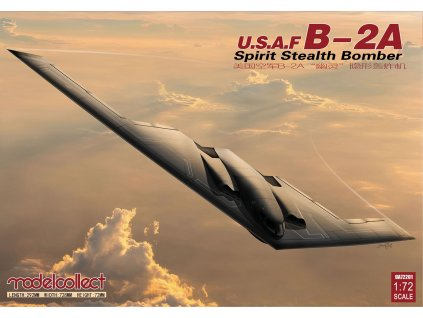 UA72201 usaf b 2a spirit stealth strategic bomber
