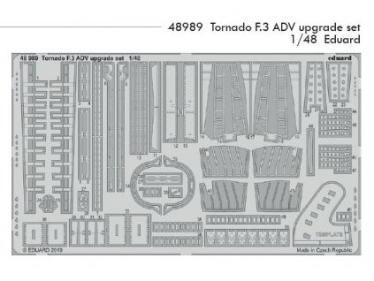 48989 Tornado F.3 ADV upgrade set Eduard