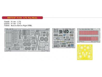 BIG72147 F 14A 1 72 Fine Molds