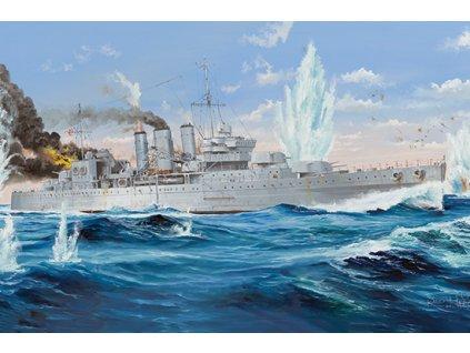 TR05353 HMS Cornwall