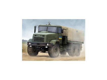 HBB85512 Ukraine KrAZ 6322 Soldier Cargo Truck