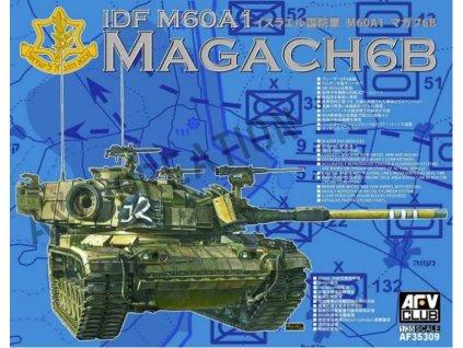 AF35309 IDF M60A1 Magach 6B