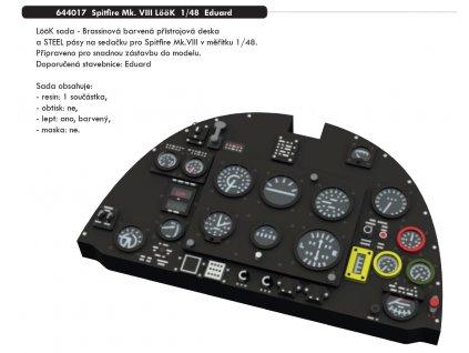 644017 Spitfire Mk. VIII LööK 1 48 Eduard