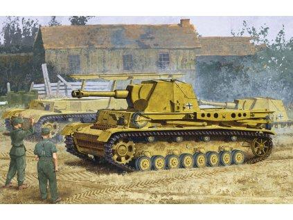 "Model Kit tank 6439 - HEUSCHRECKE IVb ""GRASSHOPPER"" 10.5cm le.F.H.18/6(Sf.) (1:35)"
