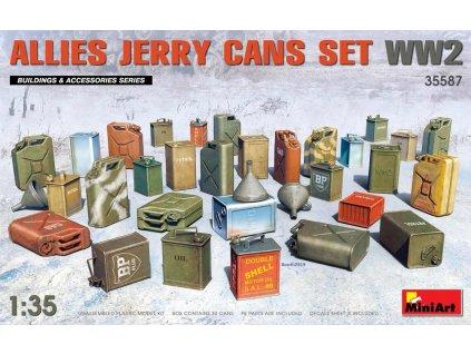 MINA35587 Allies Jerry Cans Set WWII