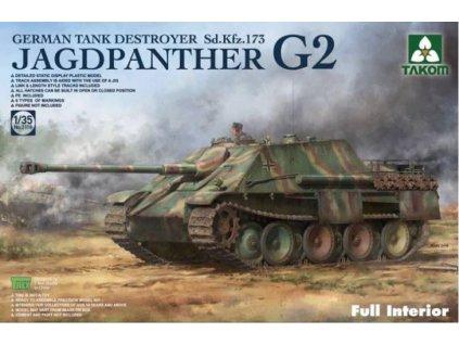 Takom 2118 Jagdpanther G2 Full interior