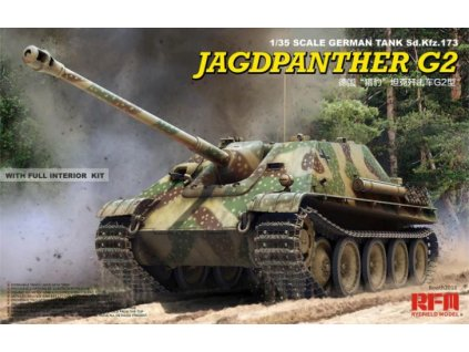 RM 5022 Jagdpanther G2 with full interior & workable track links