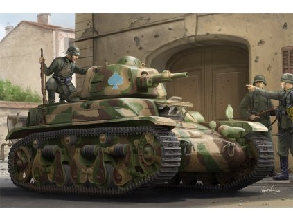 HBB 83893 French R39 Light Infantry Tank