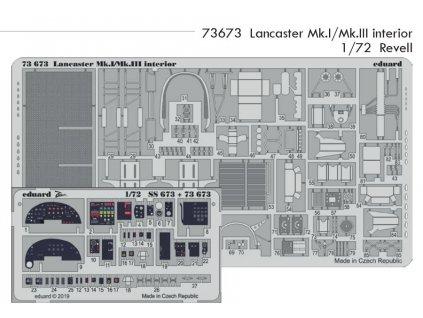 73673 Lancaster Mk.I Mk.III interior Special Hobby