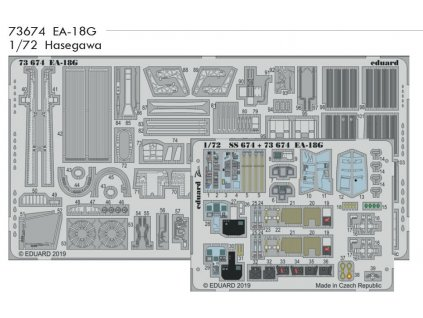 73674 EA 18G Hasegawa