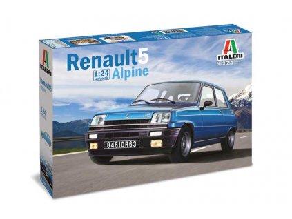 Model Kit auto 3651 - Renault 5 Alpine (1:24)