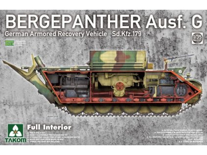 TKM2107 Bergepanther Ausf. G full interior
