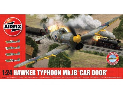 Classic Kit letadlo A19003A - Hawker Typhoon 1B - Car Door (plus extra Luftwaffe scheme) (1:24)