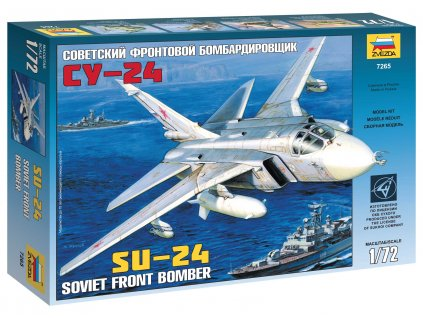 Model Kit letadlo 7265 - SU-24 (1:72)