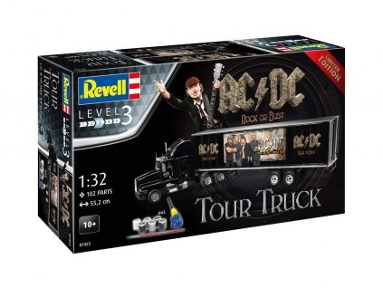 """Gift-Set truck Limited Edition 07453 - Truck & Trailer """"AC/DC"""" (1:32)"""