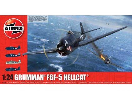 Classic Kit letadlo A19004 - Grumman F6F5 Hellcat (1:24)