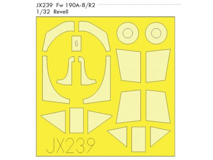 JX239 Fw 190A 8 R2 1 32 Revell