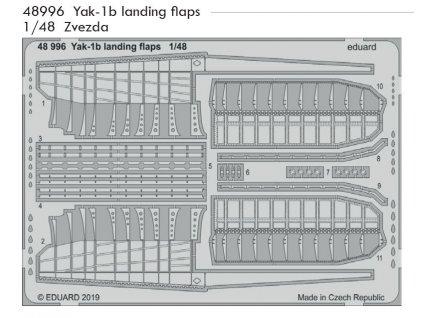 48996 Yak 1b landing flaps 1 48 Zvezda