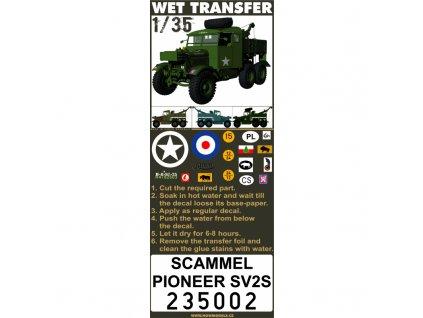 scammel pioneer sv2s stencils 135 235002