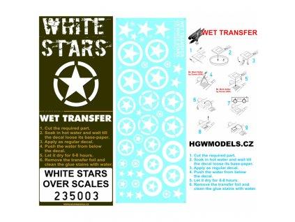 us white stars stencils 135 235003