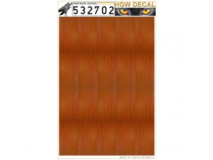 natural dark wood transparent 132 532702