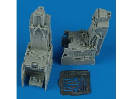 1/48 F-15E Strike Eagle ejection seats with safety belts