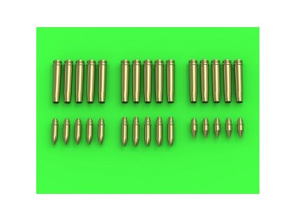 1/35 German 2cm - catridges (3 types, each 5 pcs.)