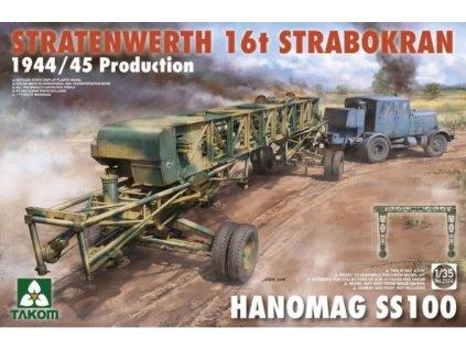 Takom 2124 Stratenwerth 16T Strabokran 1944 45 Production