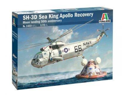 Model Kit vrtulník 1433 - SH-3D Sea King Apollo Recovery (1:72)