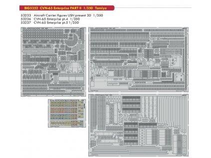BIG5352 CVN 65 Enterprise PART II 1 350 Tamiya