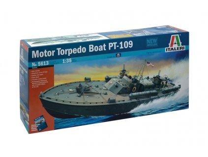 Model Kit loď 5613 - MOTOR TORPEDO BOAT PT-109 (1:35)