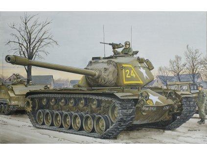 Model Kit tank 7519 - M103A1 HEAVY TANK (1:72)