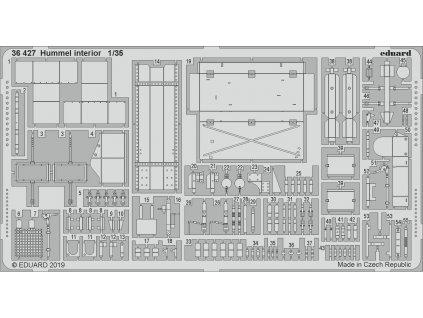 1/35 Hummel interior (TAMIYA)
