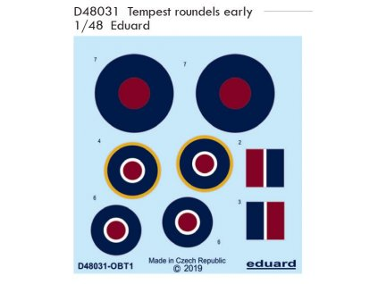 D48031 Tempest roundels early 1 48
