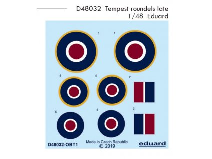 D48032 Tempest roundels late 1 48