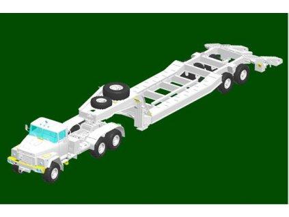 85523 Russian KrAZ 260B Tractor with CMAZ ChMZAP 5247G semitrailer