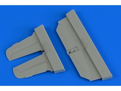 1/72 Bf 109G-6 control surfaces (Tamiya)