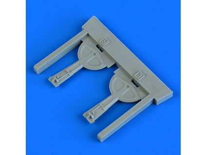 1/72 Bf 109G-6 undercarriage covers (Tamiya)
