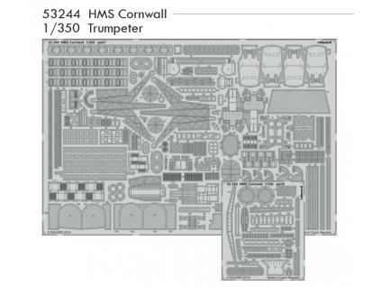 53244 HMS Cornwall 1 350