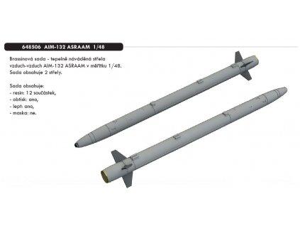 648506 AIM 132 ASRAAM 1 48