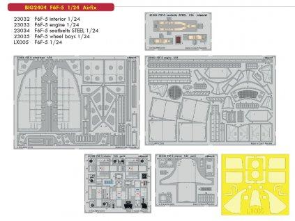 BIG2404 F6F 5 1 24 Airfix