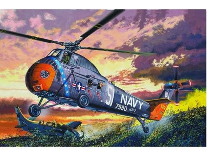 TR02882 American H 34 Helicopter – Navy Rescue